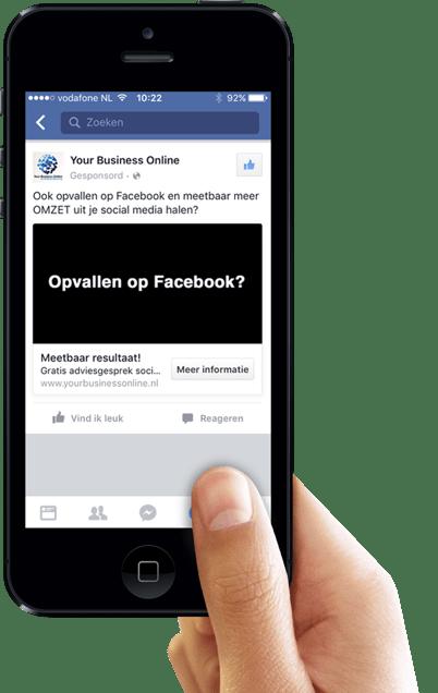 Facebook lead advertentie zakelijk
