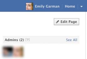 beheerders facebook timeline