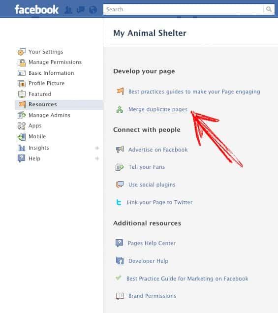 combineren facebook timeline