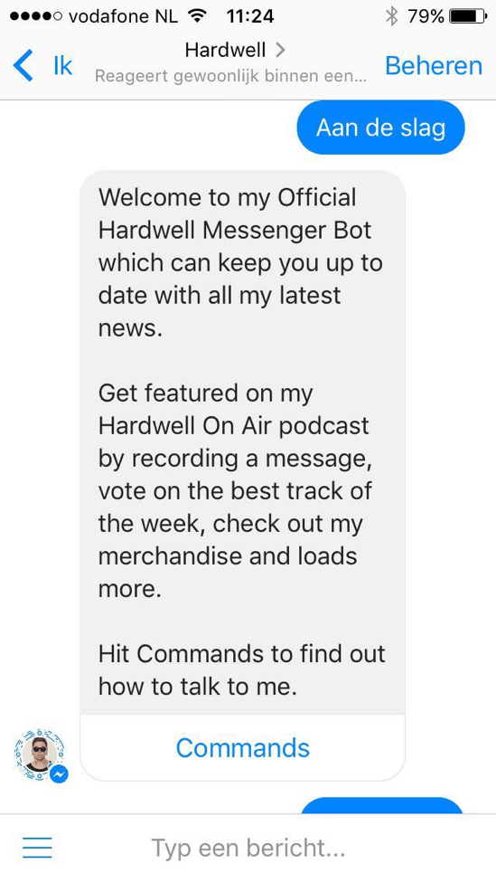 antwoord facebook bot
