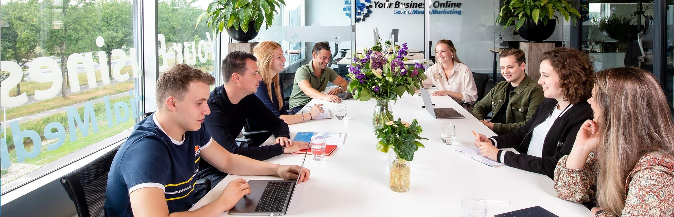 groepsfoto vergaderruimte